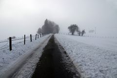 Free A Foggy Day In Winter Royalty Free Stock Photos - 105591598