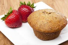 Free A Fresh Bran Muffin Stock Image - 20185481
