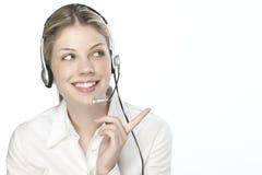 Free A Friendly Secretary/telephone Operato Stock Photo - 9926960