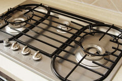 A Gas Burner Royalty Free Stock Photos