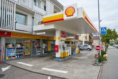 Free A Gas Station Stock Photo - 158295380