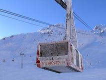 A Gondola In Courchevel Stock Image