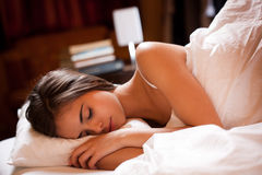 A Good Night S Sleep. Royalty Free Stock Images