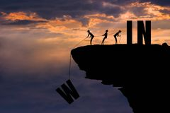 Free A Good Team-work Is A Good Power To WIN : Success Concept Stock Image - 132039601