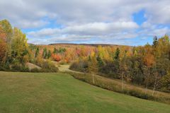 Free A Gravel Quarry In Rural Cape Breton Below The Hills On A Fall Day Royalty Free Stock Photography - 103351627