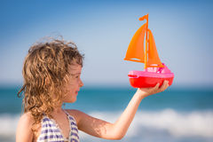 A Great Ship Needs Deep Waters Royalty Free Stock Photo