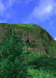 A Green Hill/mountain/cliff Royalty Free Stock Photo