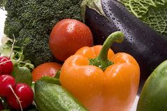 Free A Group Of Fresh Vegetables. Stock Photo - 8150210