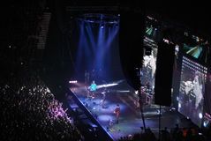 A-HA Concert In Saint-Petersburg Stock Image