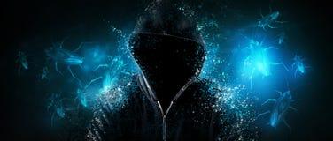 Free A Hacker Using Malicious Programs Attacks Stock Photos - 180972513