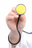 A Hand Holding Stethoscope Royalty Free Stock Photos