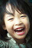 A Happy Little Girl Stock Photography