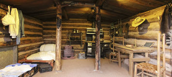 Free A Haught Cabin At The Rim Country Museum Stock Images - 85031884
