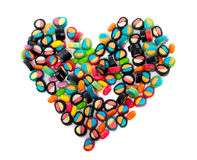 A Heart Of Candy Royalty Free Stock Image