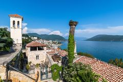 A Herceg Novi Old Town In Montenegro Royalty Free Stock Images