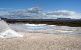 A Hot Pot In Iceland Stock Photos