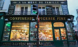 Free A La Mere De Famille Is The Oldest Chocolate Shop In Paris. The Store First Opened In 1761 Stock Image - 137879651