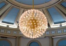 Free A Large, Globe Light Fixture. Stock Photos - 31885633