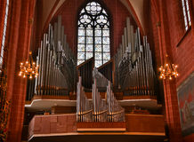 Free A Large Nineteenth Century Pipe Organ Located In An Old Methodist Church, Royalty Free Stock Images - 87226599
