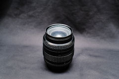 Free A Lens For Nikon On A Black Background Stock Image - 25080801