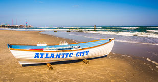 Free A Lifeboat On The Beach In Atlantic City, New Jersey. Stock Photography - 47444842