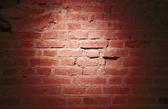 Free A Light Spot On A Brick Wall Royalty Free Stock Images - 85012529