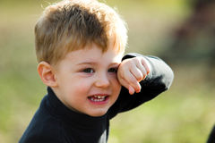 A Little Boy Royalty Free Stock Images