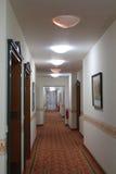 A Long Corridor Royalty Free Stock Photography