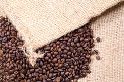 Free A Lot Of Beans Coffee With Neck Cloth Background Stock Photos - 122309773