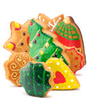 A Lot Of Christmas Cookies Royalty Free Stock Photos