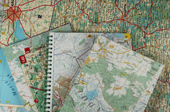 Free A Lot Of Maps Stock Images - 12122144