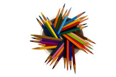 A Lot Of Pencils Royalty Free Stock Photos