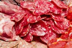 A Lot Of Spanish Serrano Ham Iberico Stock Photography