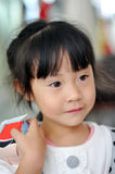 A Lovely Chinese Girl Royalty Free Stock Photo