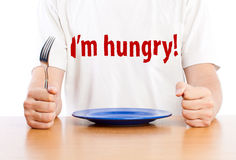 Free A Man Is Waiting For A Dinner Royalty Free Stock Photography - 21229267