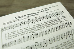 Free A Mighty Fortress Is Our God Martin Luther Christian Hymn Royalty Free Stock Images - 61146939