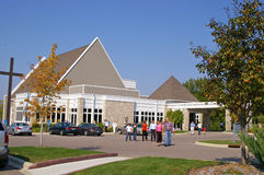 A Modern Church Building Stock Photography