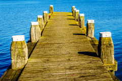 Free A Mooring Dock For Boats In The Bird Sanctuary Of Veluwemeer Stock Photography - 79461812