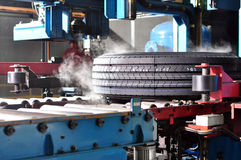 Free A New Tire In The Production Line Stock Images - 19528764