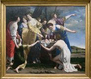 Free A Painting By Orazio Gentileschi In The National Gallery In London Royalty Free Stock Photography - 101897847