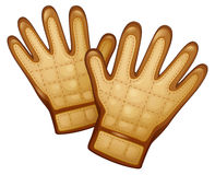 A Pair Of Leather Gloves Stock Image
