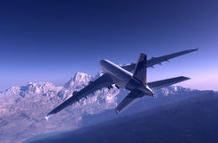 A Passenger Plane Royalty Free Stock Photo