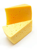 A Piece Of Swiss Cheese Royalty Free Stock Photography