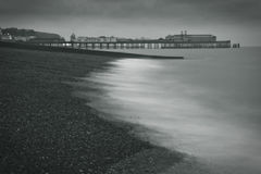 A Pier At The Beach Stock Image