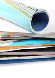 A Pile Of Magazines Royalty Free Stock Images