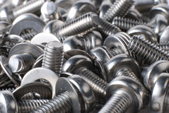 A Pile Of Screws Stock Images