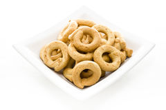 Free A Plate With Italian Typical Biscuits Called Stock Photography - 28550602
