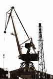 A Portal Crane Royalty Free Stock Images