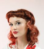 A Pretty Pin Up Girl Royalty Free Stock Photography