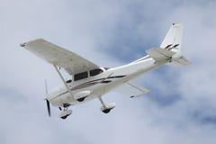 A Prop Plane Landing Stock Image